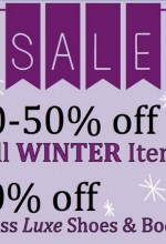 Winter sale at dress in Raleigh