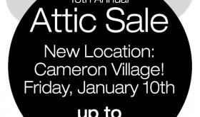 Uniquities 18th Annual Attic Sale