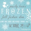 Peachy Keen's FROZEN Fall Fashion Show