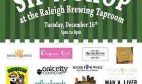 Sip n Shop at Raleigh Brewing