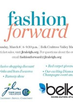 Junior League of Raleigh hosts Fashion Foward at Belk in Raleigh on March 8